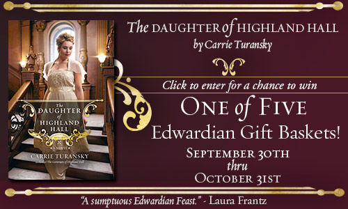 The Daughter of Highland Hall Giveaway